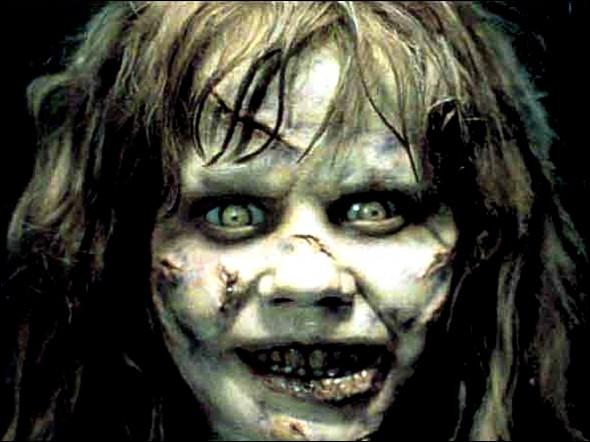 Vue dans 'L'exorciste   cette jeune actrice est :