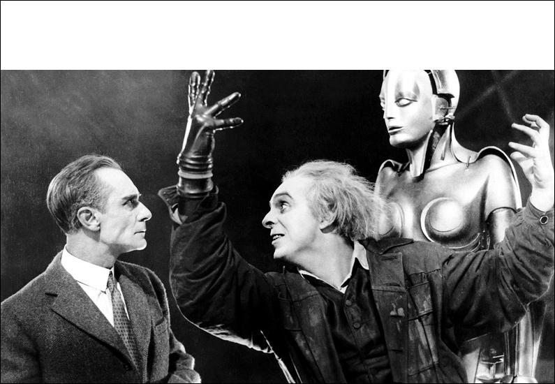 Film légendaire de science-fiction, muet et en noir et blanc, de 1927, réalisé par Fritz Lang !