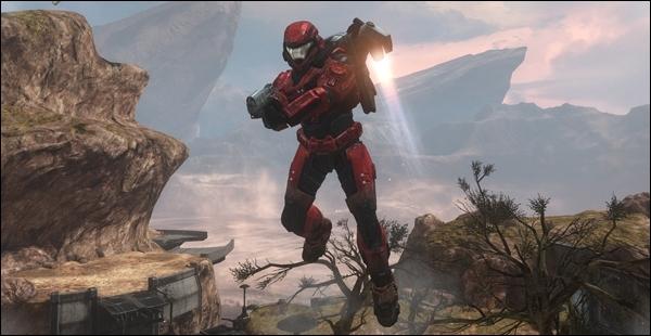 Dans quel Halo sont apparus les gadgets ( jet-pack... ) ?