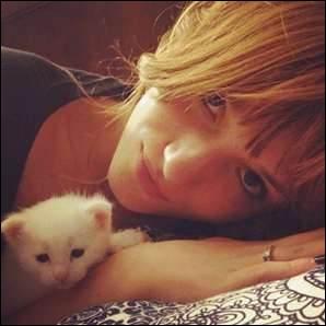 Combien a-t-elle de chats ?