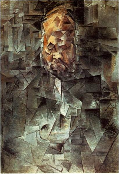 Qui est l'auteur de l'œuvre  Ambroise Vollard  ? À quel « sous-courant » du cubisme cette toile appartient-elle ?
