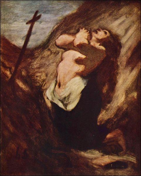 Cette peinture est en effet  Marie Madeleine . Par qui cette œuvre a-t-elle été peinte et à quel courant appartient-elle ?