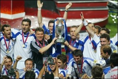 La Grèce n'a pas vraiment de stars dans son équipe mais a déjà remporté l'Euro ; c'était en :