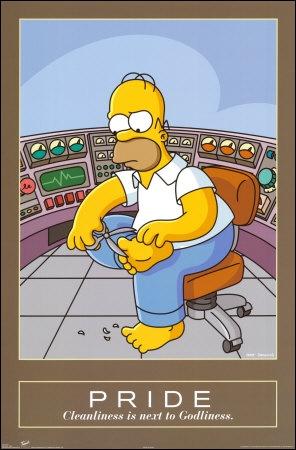 Au travail Homer ...