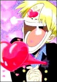 De qui Sanji tombe-t-il amoureux ?