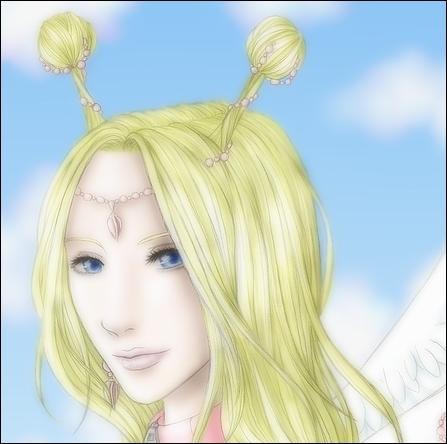 Je suis blonde, j'ai des antennes et vis sur Skypea, je suis...