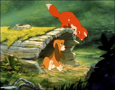 Dans ''Rox et Rouky'' (1981), Rox est le renard et Rouky le chien. Quelle est sa race ?