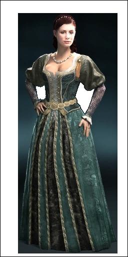 Pour quelle femme Ezio Auditore craque-t-il dans Ac Revelation ?