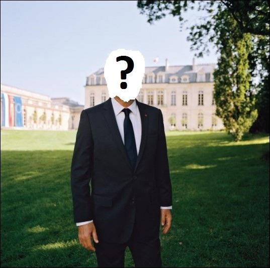 Quel président français de la Vème République est ici représenté ?