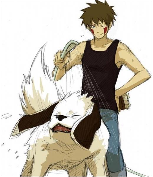 Kiba et Akamaru font-ils partie du manga Naruto ?