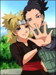 Temari et Shikamaru font-ils partie du manga Naruto ?