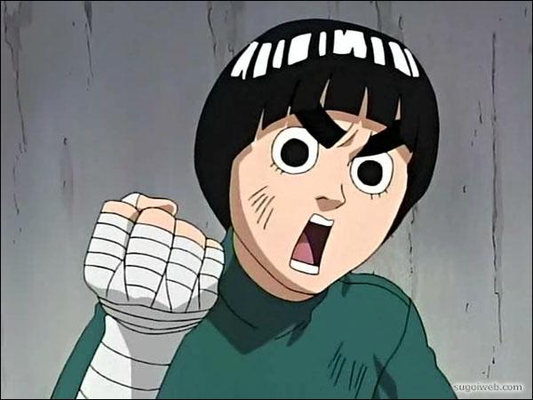 Rock Lee fait-il partie du manga Naruto ?