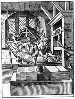 Quelle personnalité allemande est reconnue comme étant l'inventeur de l'imprimerie ?