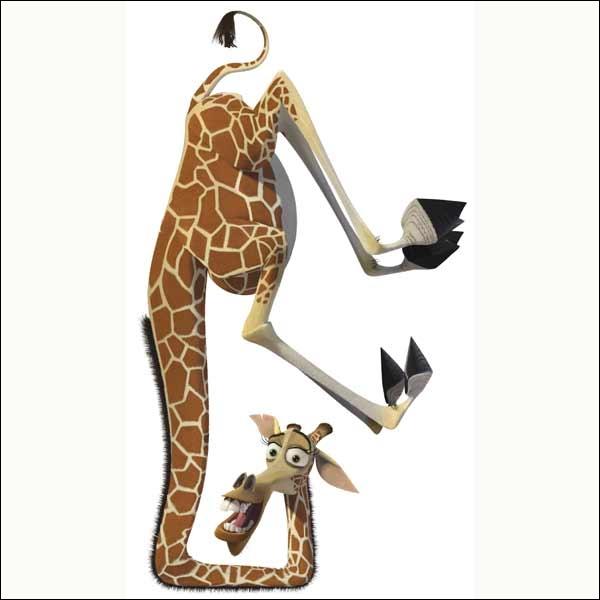 Quizz madagascar le film quiz films - Girafe dans madagascar ...
