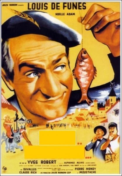 Dans ce film sorti en 1958, son personnage se nomme Léon Blaireau ... .