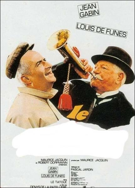 Dans ce film sorti en 1968, son personnage se nomme Félicien Mézeray ... .