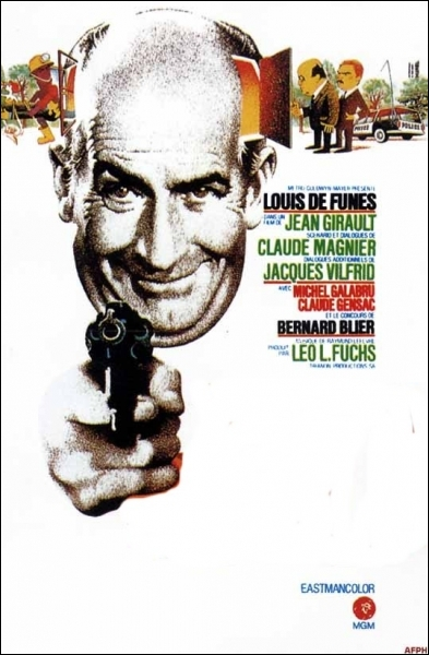 Dans ce film sorti en 1971, son personnage se nomme Antoine Brisebard ... .