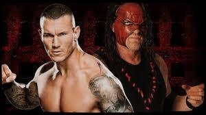 Quel est le vainqueur entre Randy Orton et Kane dans un Falls Count Anywhere match ?