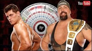 Quel est le vainqueur entre Big Show et Cody Rhodes dans un Tables match pour le Intercontinental championship ?