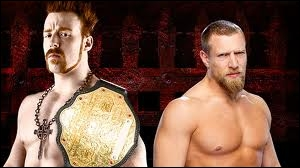 Quel est le vainqueur entre Sheamus et Daniel Bryan dans un 2 Out of 3 Falls match pour le World Heavyweight championship ?