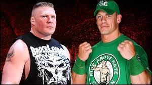 Quel est le vainqueur entre Brock Lesnar et John Cena dans un Extreme Rules match ?