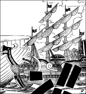 C'est le bateau de...