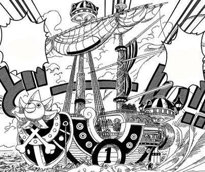 Bateaux de One Piece