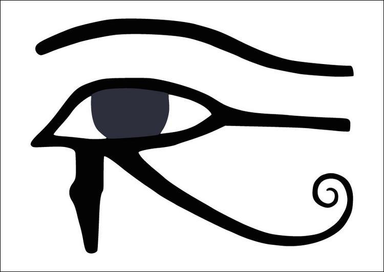 Symbole protecteur des Egyptiens en forme d'œil, c'est ...