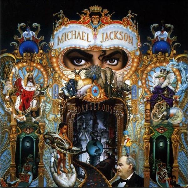 Combien d'exemplaires de l'album ''Dangerous'' ont été vendus dans le monde ?