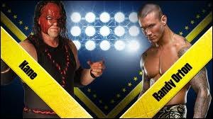 Quel est le vainqueur entre Randy Orton et Kane dans un match simple ?