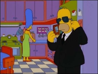 Pourquoi Homer s'habille-t-il ainsi ?