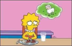 Pourquoi pense-t-elle à un agneau ?