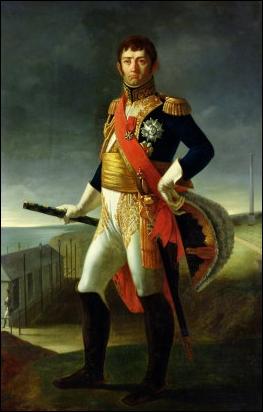 Commandant en chef du camp de Boulogne, je commande l'aile droite de l'armée à la bataille d'Austerlitz et pendant la campagne de Prusse. Rendu responsable de la défection de Grouchy à Waterloo, je suis...