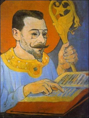Qui a peint ce Portrait de Paul Ranson habillé en prophète en 1890 ?