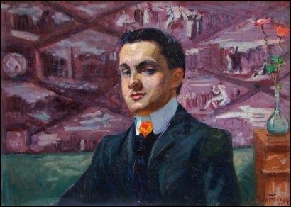 Quel est l'auteur de ce portrait (présumé) de Raoul Dufy en 1905 ?