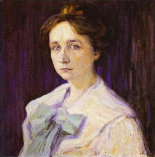 Qui a peint sa compagne, Gabriele Munter, en 1905 ?