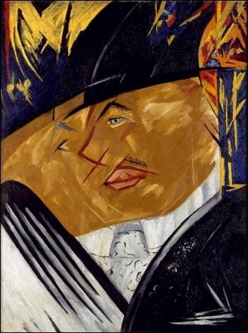 Qui a réalisé en 1913 ce portrait de Mikhail Larionov ?