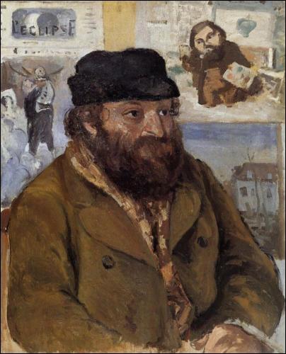 Qui a peint Paul Cézanne en 1874 ?