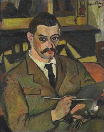 De qui est ce portrait de Maurice Utrillo en 1921 ?