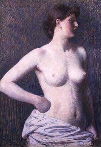 Suzanne Valadon a servi de modèle à plusieurs peintres. Qui en a fait ce superbe nu en 1880 ?