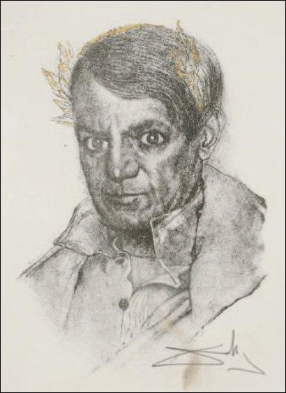 Que autre compatriote a dessiné ce portrait saisissant de Picasso ?