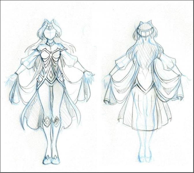 Question liée à la suivante : Est-ce la tenue de Jadina dessinée par Nadou ?