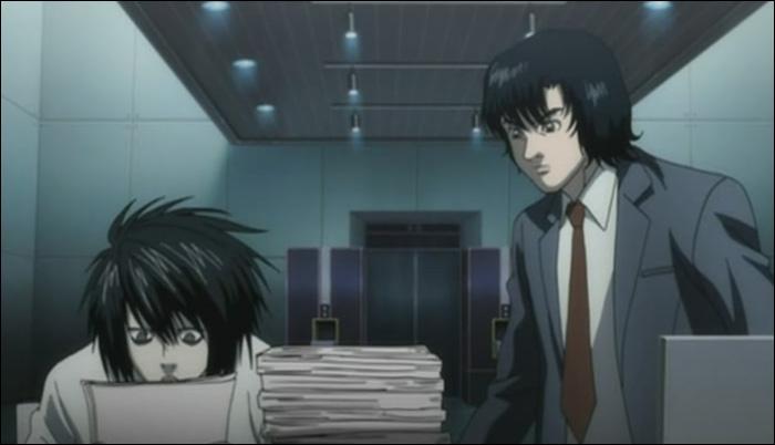 Episode 18 : Plus tard au QG, que demande L à Matsuda ?