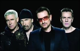 Ce groupe irlandais avec Bono à sa tête ne fait pas que chanter. Il s'est engagé pour les droits de l'homme et la défense de l'Afrique. Quelle chanson ne fait pas partie de son répertoire ?