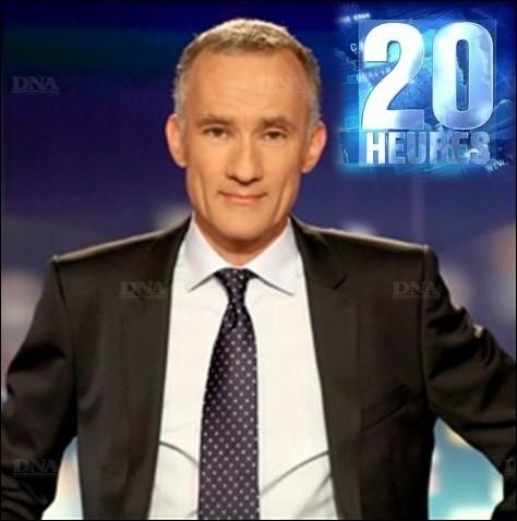 Il est le nouveau présentateur titulaire du Journal Télévisé de 20 heures sur TF1 :