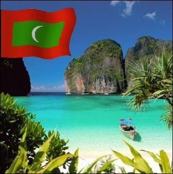 Etat Insulaire de l'Océan Indien, ayant pour capitale Malé... .