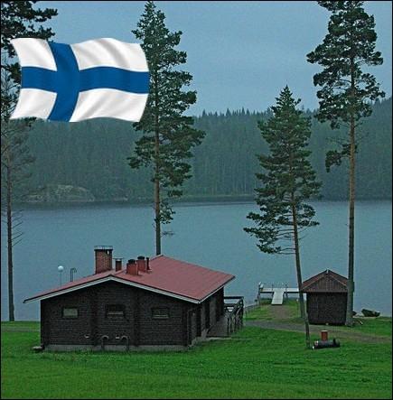C'est le pays des Milles lacs ... .