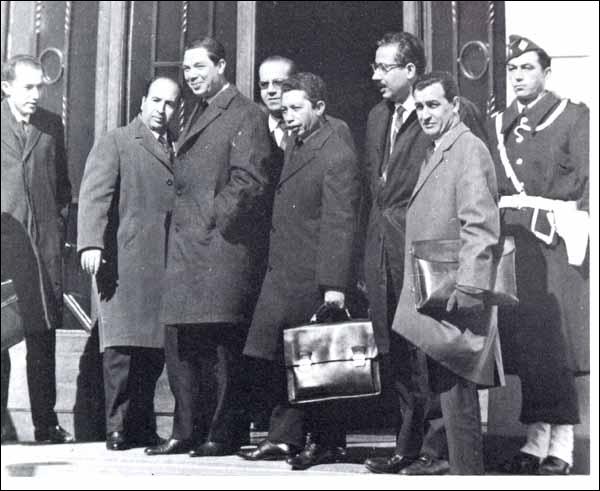 19 mars 1962 : Ben Khedda annonce le cessez-le-feu