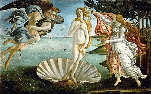 Arts plastiques : qui a peint cette célèbre peinture sur la photo ?