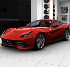 Quelle est la puissance de cette Ferrari F12 Berlinetta ?